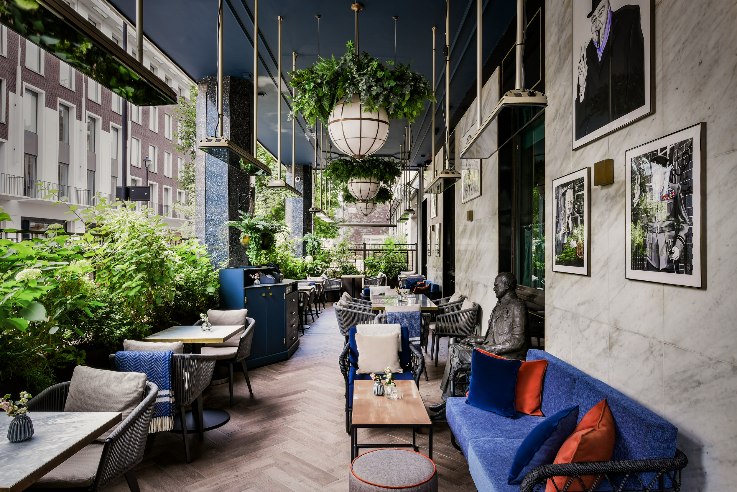 Cocktails at The Churchill Bar and Terrace - £40