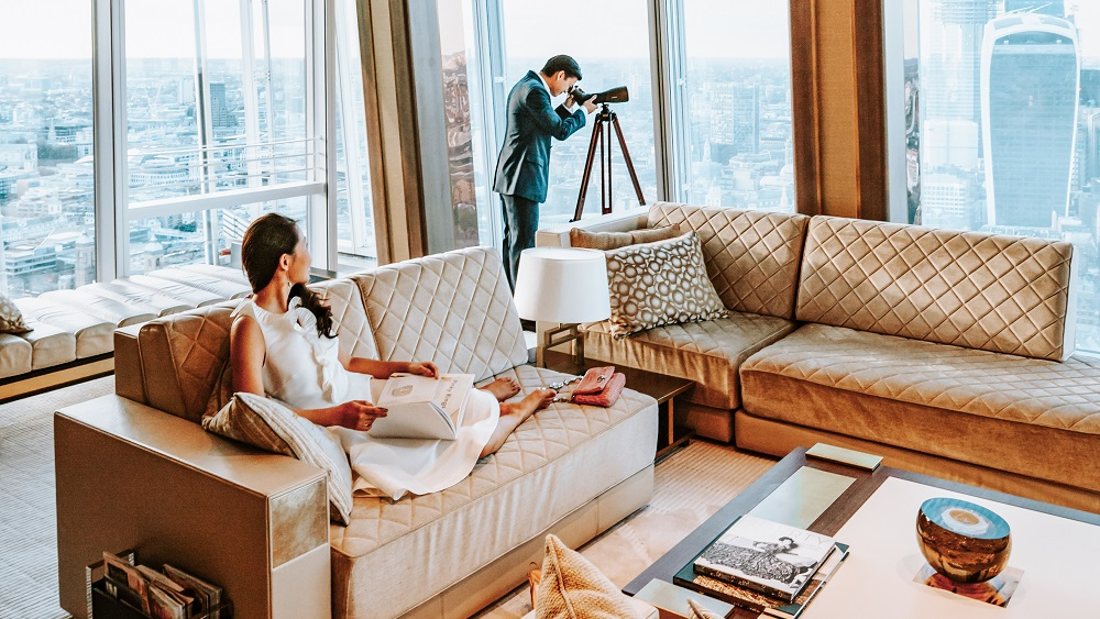 The Ultimate Shangri-La Experience in a Deluxe City View Room
