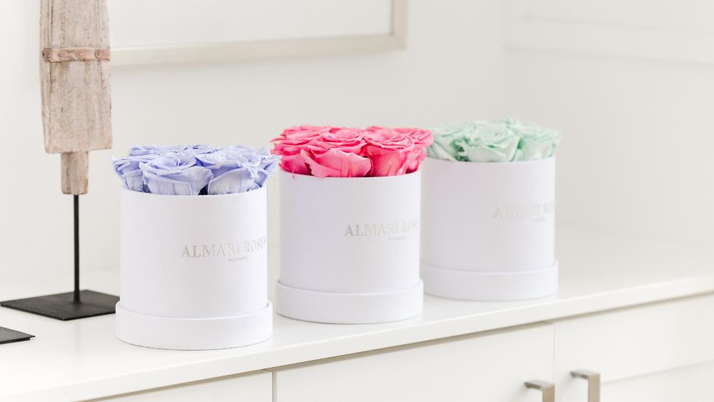 Almari Maison Grande Rose Box - Blush Pink