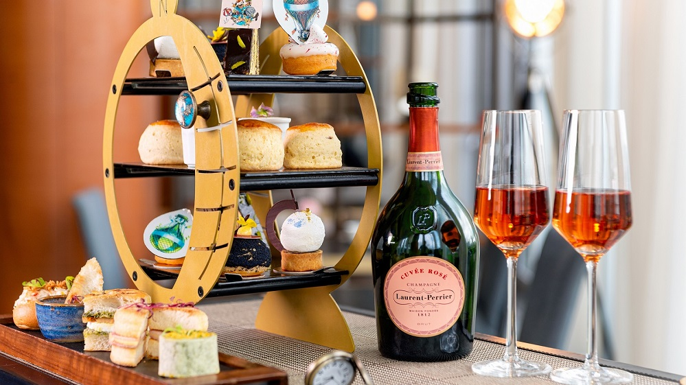 Bottomless Champagne Afternoon Tea for One
